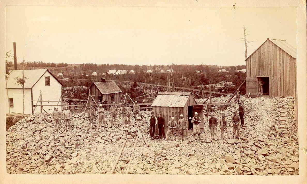 Molega Mines Vintage Photo