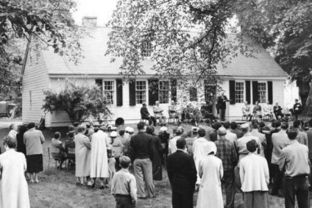 Perkins House Museum Opening Ceremony 1957