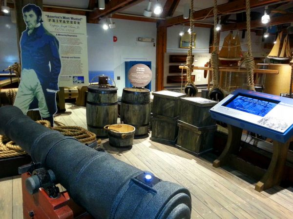 Liverpool Packet - a famous privateering ship from Liverpool, Nova Scotia