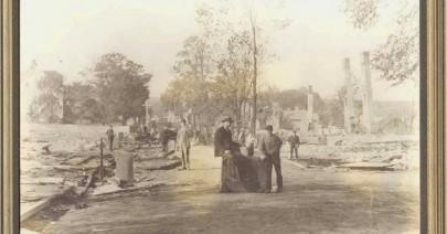 Liverpool Nova Scotia after 1895 fire