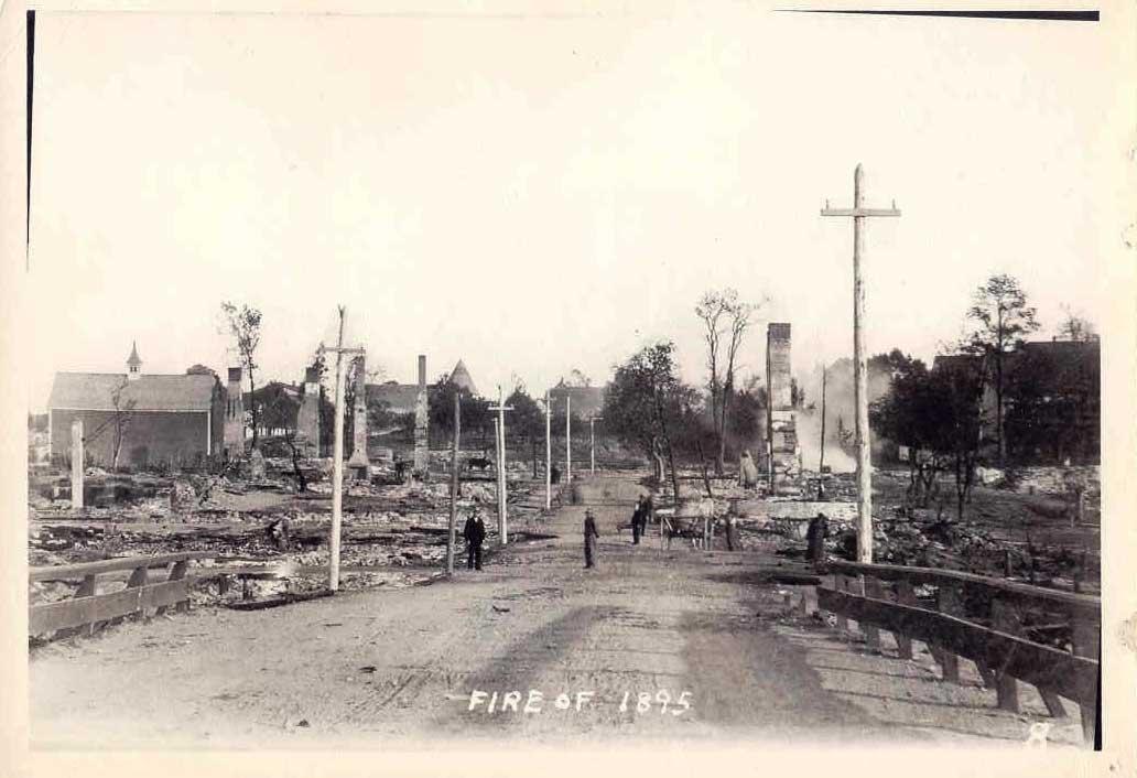Liverpool Street after 1895 fire