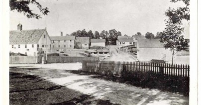 The old mills, Milton Bridge