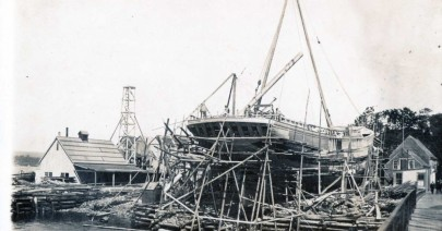 Boat Building, Liverpool, NS