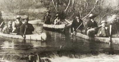 historic canoe people