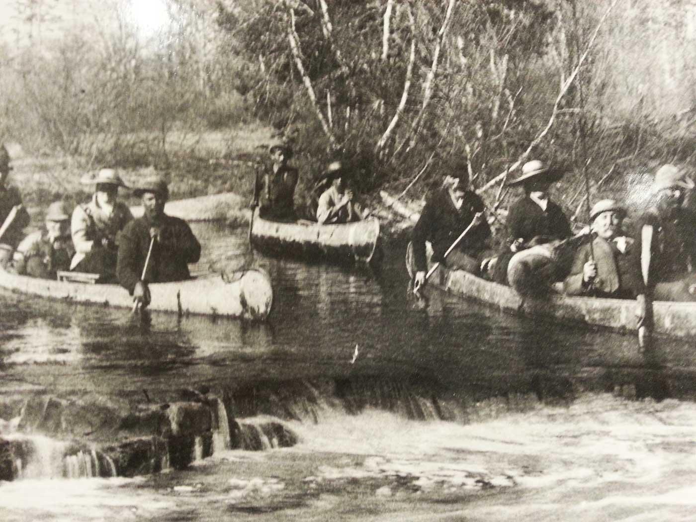 historic canoe people