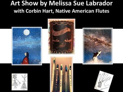 Melissa Sue Labrador Art Show June 2017