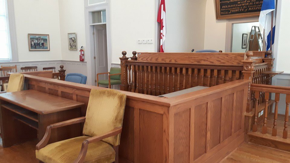 Cases were heard, and justice dispensed in the Courthouse for 160+ years