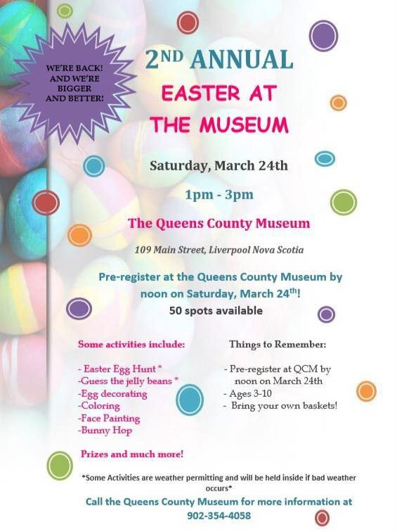 Easter at Queens County Museum, March 24, 2018