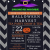 Halloween Harvest Tea Party Show and Tell, Oct 22, 2018