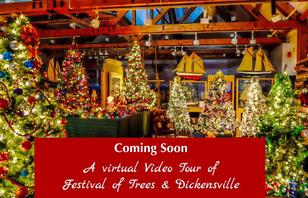Festival Of Trees and Dickensville Virtual tour coming soon